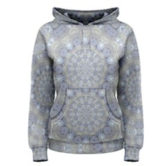 Flower Lace In Decorative Style Women s Pullover Hoodie