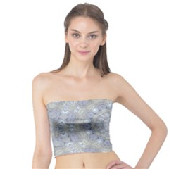 Flower Lace In Decorative Style Tube Top