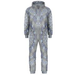Flower Lace In Decorative Style Hooded Jumpsuit (men)