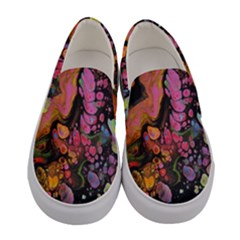 To Infinity And Beyond Women s Canvas Slip Ons