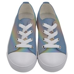 Rainbow Photography Kids  Low Top Canvas Sneakers
