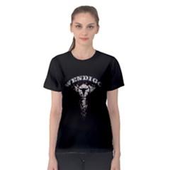 Dreamcatcher Pentagram Wendigo Women s Sport Mesh Tee