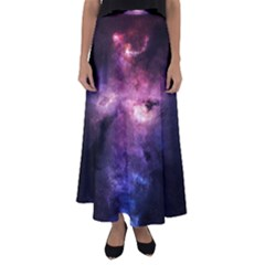 Space Time Two Flared Maxi Skirt