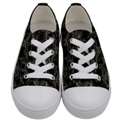 Jagged Stone 2d Kids  Low Top Canvas Sneakers