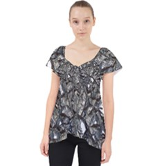 Jagged Stone 3a Lace Front Dolly Top