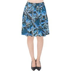 Jagged Stone 2c Velvet High Waist Skirt