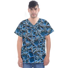 Jagged Stone 2c Men s V Neck Scrub Top
