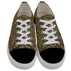 Jagged Stone Golden Women s Low Top Canvas Sneakers
