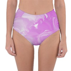 Pink Storm22 Reversible High Waist Bikini Bottoms