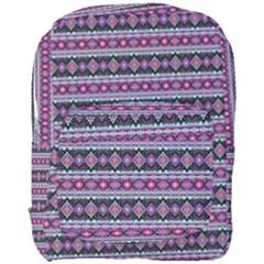 Fancy Tribal Border Pattern 17c Full Print Backpack