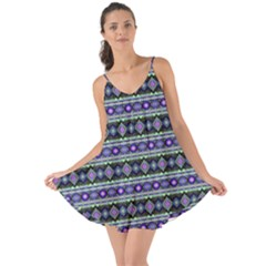 Fancy Tribal Border Pattern 17d Love The Sun Cover Up