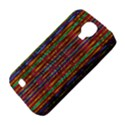 Star Fall In  Retro Peacock Colors Samsung Galaxy S4 Classic Hardshell Case (PC+Silicone) View4