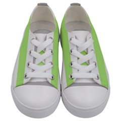 Age Stripes Kids  Low Top Canvas Sneakers