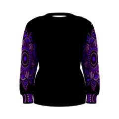 Purple Flower! Women s Sweatshirt