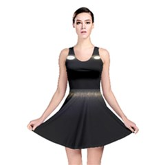 Black Lite!  Reversible Skater Dress