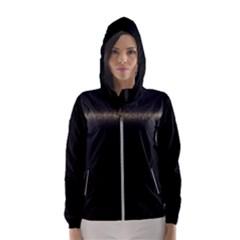 Black Lite!  Hooded Wind Breaker (women)