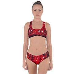 U Broke My Heart Criss Cross Bikini Set