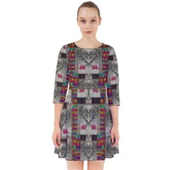 Wings Of Love In Peace And Freedom Smock Dress