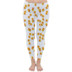 Candy Corn Classic Winter Leggings