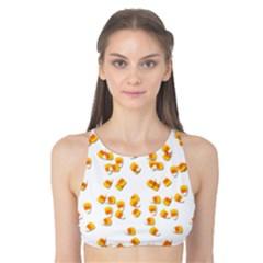 Candy Corn Tank Bikini Top