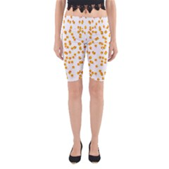 Candy Corn Yoga Cropped Leggings
