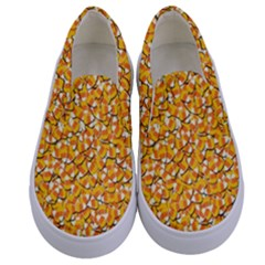 Candy Corn Kids  Canvas Slip Ons