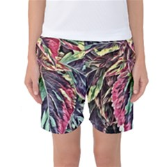 Dreamy Floral 7 Women s Basketball Shorts