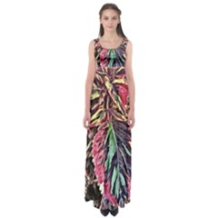 Dreamy Floral 7 Empire Waist Maxi Dress