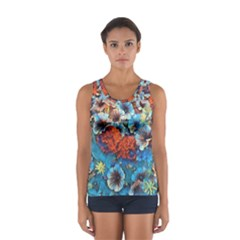 Dreamy Floral 3 Sport Tank Top