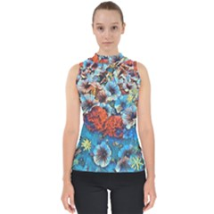 Dreamy Floral 3 Shell Top