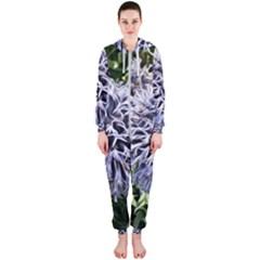 Dreamy Floral 6 Hooded Jumpsuit (ladies)