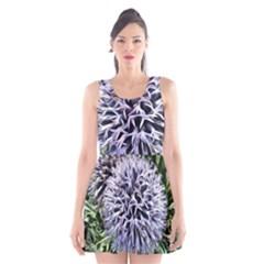 Dreamy Floral 6 Scoop Neck Skater Dress