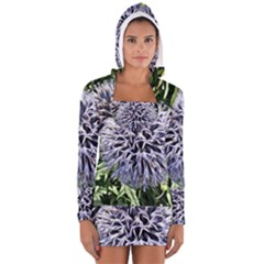 Dreamy Floral 6 Long Sleeve Hooded T Shirt