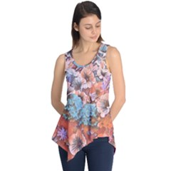 Dreamy Floral 4 Sleeveless Tunic