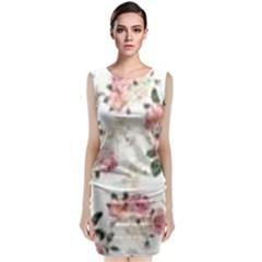 Downloadv Sleeveless Velvet Midi Dress
