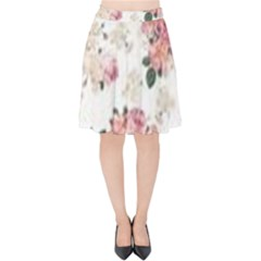 Downloadv Velvet High Waist Skirt