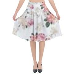 Downloadv Flared Midi Skirt