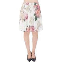 Downloadv Velvet High Waist Skirt