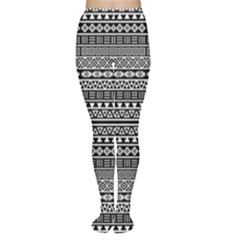 Aztec Influence Pattern Women s Tights