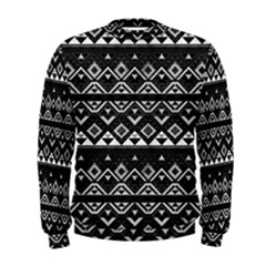 Aztec Influence Pattern Men s Sweatshirt