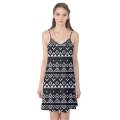Aztec Influence Pattern Camis Nightgown