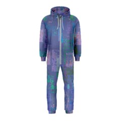 Abstract Art Hooded Jumpsuit (kids)