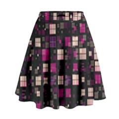 Small Geo Fun D High Waist Skirt