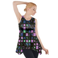 Small Geo Fun B Side Drop Tank Tunic