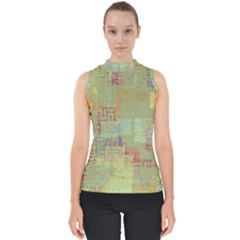 Abstract Art Shell Top
