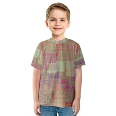 Abstract Art Kids  Sport Mesh Tee
