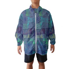 Abstract Art Wind Breaker (kids)