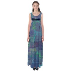 Abstract Art Empire Waist Maxi Dress