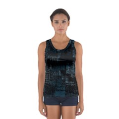 Abstract Art Sport Tank Top
