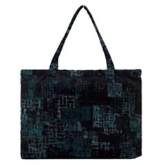 Abstract Art Zipper Medium Tote Bag